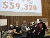 Confederation College Contributes Over $59,000 to its Students, the United Way and Stock the Bank