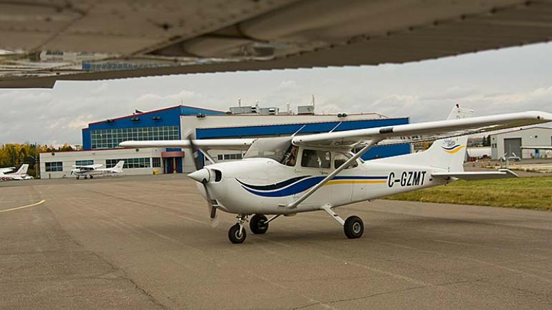 photo - Confederation College Aviation Centre of Excellence at Thunder Bay International Airport