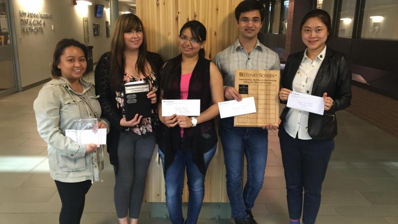 Dental Assisting I & II Graduate Award Winners 2016