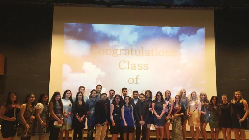 Dental Hygiene Graduating Class of 2016