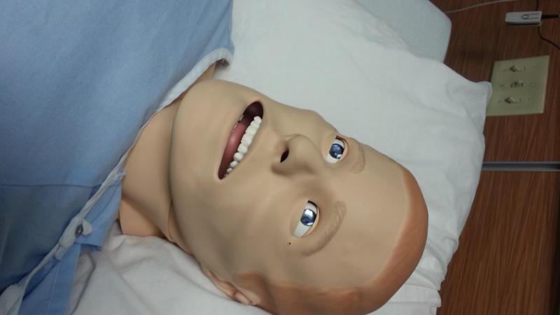 Nursing lab realistic, hi-tech manikin