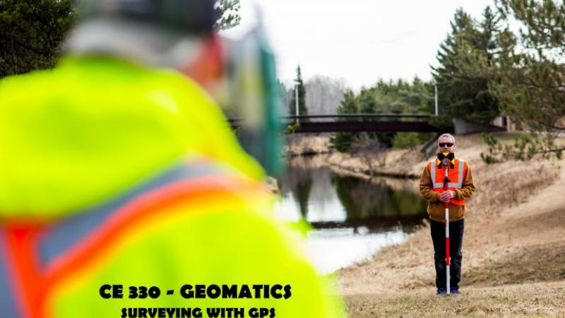 CE330 - Geomatics - surveying with GPS