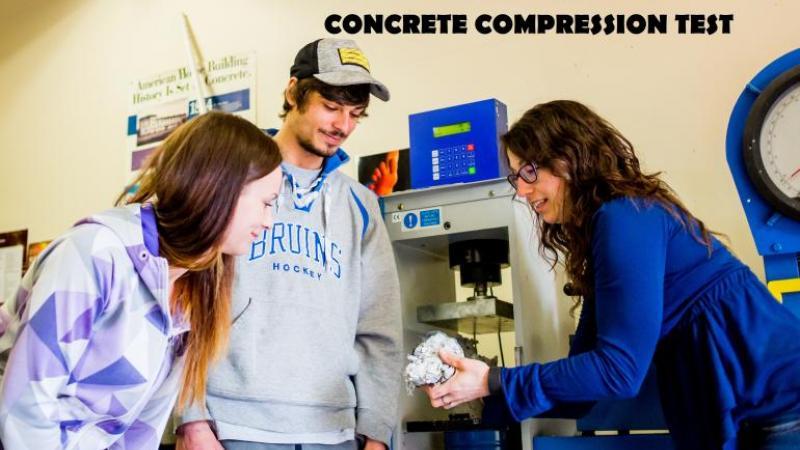 CE425 - Materials Testing - Concrete Compression Test
